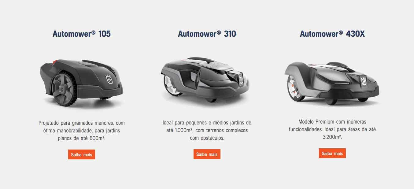 Modelos de Automower