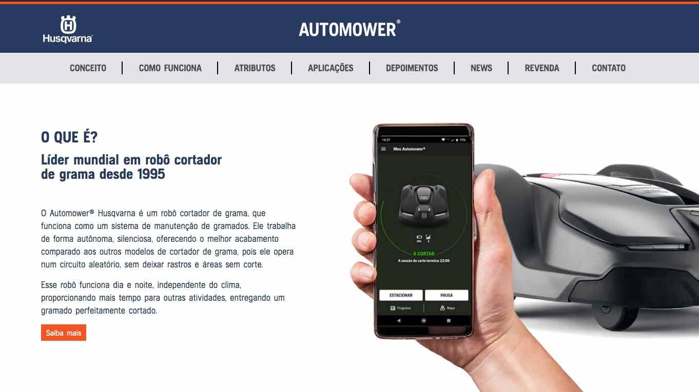 Quem somos Automower