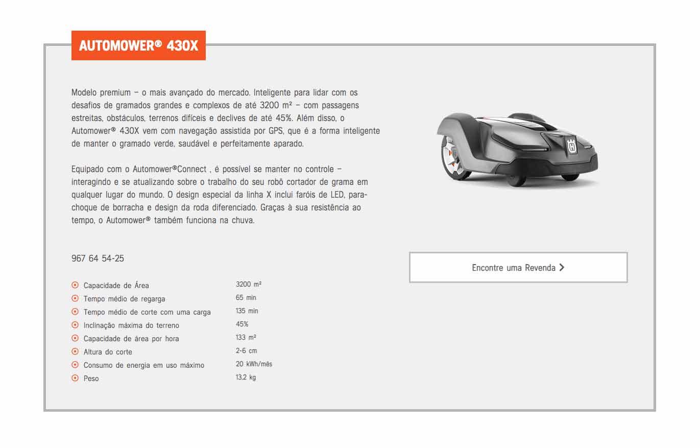 Modelo automower 430X